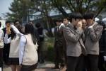 Sau thảm kịch đắm phà, học sinh Danwon đi học trở lại