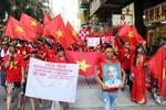 Ảnh: Người Việt tại Hồng Kông biểu tình đòi Trung Quốc rút giàn khoan