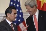 Vương Nghị bức xúc vì phải ngồi chờ John Kerry nửa tiếng