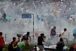 Hồng Kông: Trường học, ngân hàng phải đóng cửa vì biểu tình