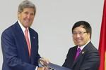 Ngoại trưởng Việt - Mỹ tập trung thảo luận về vấn đề Biển Đông