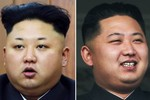 Kim Jong-un tỉa ngắn lông mày khi xuất hiện trong năm mới 2015