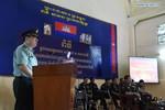 Tùy viên Quân sự Trung Quốc lên lớp cho giảng viên sĩ quan Campuchia