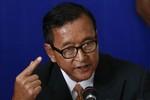 Sam Rainsy nói gì về Biển Đông và thủ đoạn mới chống phá biên giới Tây Nam?