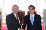 Trung Quốc cho Malaysia vay 50 tỉ nhân dân tệ