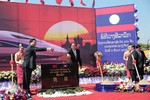 """Trung Quốc bắt đầu xây đường sắt xuyên Lào, hướng mắt tới """"chân trời xa"""""""