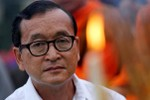 """Campuchia bác đề xuất """"thẩm vấn qua Skype"""" của ông Sam Rainsy"""