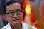 Sam Rainsy lại kêu gọi biểu tình hàng loạt chống Hun Sen từ Paris