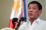 Ông Duterte: cứ để dành Phán quyết đấy, sẽ hành động nếu Trung Quốc...