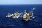Mỹ tăng khả năng răn đe quân sự ở Biển Đông đúng ngày ông Trump nhậm chức