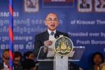Vua Campuchia kêu gọi dân chúng yên tâm đi bầu cử