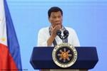 """Ông Rodrigo Duterte cảnh báo Trung Quốc khả năng vũ khí """"cướp cò"""" ở Biển Đông"""