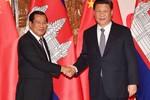 Trung Quốc hứa viện trợ 588 triệu USD, Campuchia tiếp nối Vành đai và Con đường