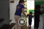 Đóng cửa cơ sở mầm non Sen Vàng vì cô giáo bạo hành trẻ