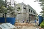 Nhà thầu công trình ở Đại học sư phạm Thái Nguyên chây ì, chậm tiến độ