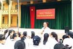 Học sinh tự tin khởi nghiệp sau những chia sẻ của Giáo sư Nguyễn Lân Dũng