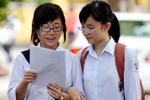 Điểm thi chính thức các khối A,A1,B vào Đại học Quốc gia Hà Nội