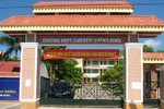 Trường Chuyên Quảng Bình mang tên Đại tướng Võ Nguyên Giáp