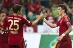 Bremen 0-2 Bayern: 'Hùm xám' thắng toát mồ hôi