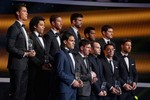 Từ lễ trao Quả bóng Vàng: Premier League ở đâu?