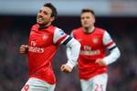 Arsenal 2-1 Aston Villa: Cazorla giúp Emirates thở phào nhẹ nhõm