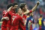 Bayern Munich 4-0 Barcelona: Cái tát của 'hùm'
