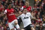 Arsenal 1-1 M.U: Van Persie lại nổ súng trong trận hòa 'hữu nghị'