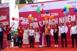 Hơn 300 học sinh, sinh viên phát bao cao su miễn phí tại Đồ Sơn