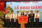 Hơn 8.000 sinh viên Trường Đại học Hải Phòng bước vào năm học mới