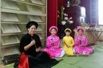 Trường Tiểu học Nguyễn Công Trứ truyền dạy ca trù tới học sinh