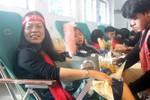 Sinh viên Hải Phòng sôi nổi tham gia hiến máu trong ngày Chủ nhật Đỏ