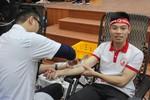 Chàng sinh viên trẻ 10 lần hiến máu tình nguyện