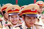 Chùm ảnh: Diễu binh tổng duyệt hoành tráng khai giảng HV Cảnh sát