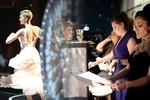 Hình ảnh lạ mắt trong hậu trường Oscar 85