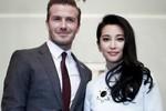Lý Băng Băng tình tứ bên David Beckham