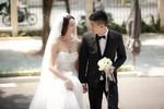 Người đẹp Trà Ngọc Hằng gợi cảm trong 'ngày cưới'