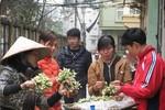 Có ngày, tôi bán được nửa tạ hoa bưởi ở phố Hà Nội