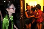 Phương Mỹ Chi, Quang Anh trốn sau cánh gà tránh vòng vây fan hâm mộ