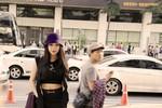 Trà Ngọc Hằng gây chú ý trên đường phố Hàn Quốc