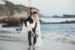 Ngọc Quyên tung ảnh lãng mạn với chồng giàu có trước ngày cưới