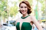 Ngân Khánh sợ và áp lực khi thế vai Hoa hậu Diễm Hương