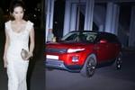 Hoa hậu Thu Hoài nổi bật ở Đêm hội chân dài bằng xe sang mới tậu
