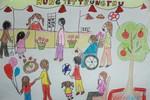 Tranh dự thi của Ngọc Ánh, lớp 5A9, Tiểu học Đoàn Thị Điểm (MS: 195)