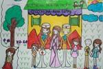 Tranh dự thi của Nam Phương, lớp 5A4, Tiểu học Đoàn Thị Điểm (MS: 196)