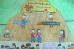 Tranh dự thi của Anh Kiệt, lớp 3A2, Tiểu học Đồng Nhân (MS:336)