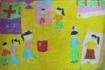 Tranh dự thi của Hà Phương, lớp 3A2, Tiểu học Đồng Nhân (MS:333)