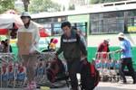 Cao điểm rời Sài Gòn về quê ăn Tết, bến xe miền Đông chật kín người