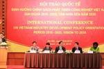 Ban Kinh tế TW tham vấn chuyên gia quốc tế về phát triển công nghiệp