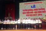Tuyên dương, khen thưởng 124 giáo viên và 169 học sinh giỏi quận Hoàn Kiếm