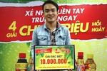 Hàng chục nghìn giải thưởng khuyến mãi hè của Tân Hiệp Phát đến với khách hàng